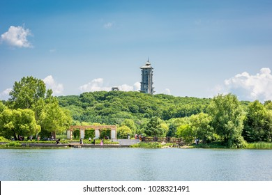 Jingyue Lake,the Biggest and most beautiful park in changchun.
