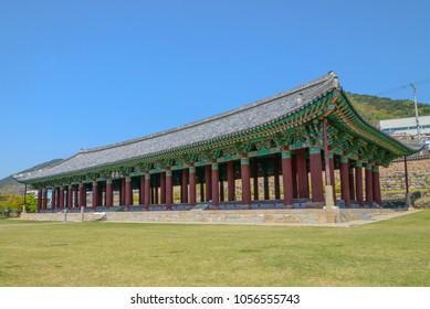 Jinnamgwan Hall at Yeosu city, South Korea