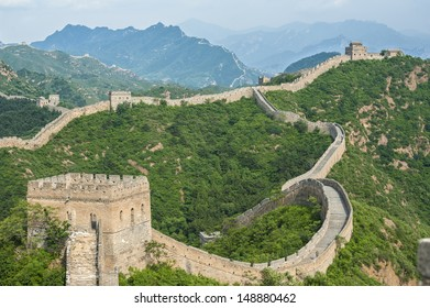 Jinshanling Great Wall, located in Hebei province
