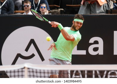 Jiri Vesely (CZE) during the Open Parc Auvergne-Rhône-Alpes Lyon 2019, ATP 250 Tennis tournament on May 20, 2019 at Parc de la Tête d'Or in Lyon, France