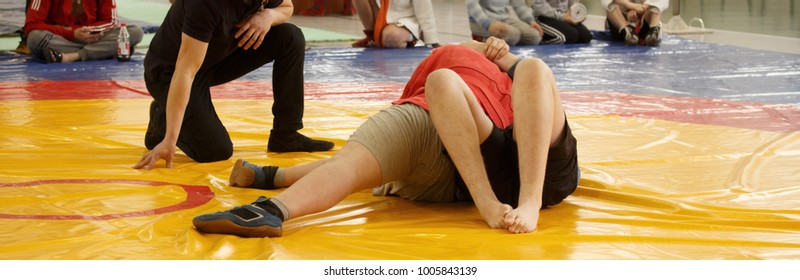 JIU JITSU, SAMBO, MMA. Boys wrestling competitions