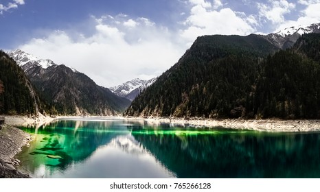 Jiuzhaigou Lake Panorama