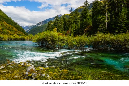 Jiuzhaigou National Park, Sichuan, China, UNESCO World Heritage (Natural)