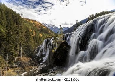 Jiuzhaigou Valley Scenic and Historic Interest Area, Sichuan, China