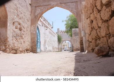 Jizan Fort Entrance