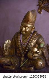 Jizo Bodhisattva in temple
