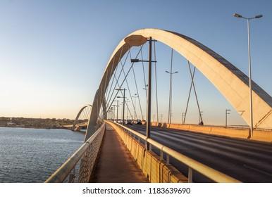 JK Bridge - Brasilia, Distrito Federal, Brazil