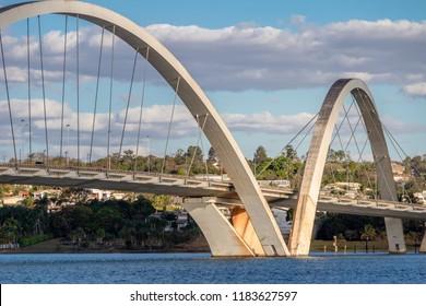 JK Bridge Detail - Brasilia, Distrito Federal, Brazil