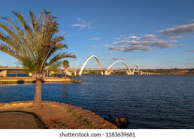 JK Bridge and Paranoa Lake - Brasilia, Distrito Federal, Brazil