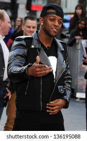 JLS singer, Oritse arriving for the Iron Man 3 Premiere, Odeon Leicester Square, London. 18/04/2013 Picture by: Steve Vas