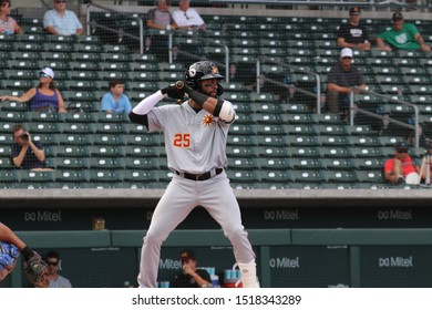 Jo Adell outfielder for the Mesa Solar Sox at Sloan Park in Mesa,AX/USA Sept.29,2019.