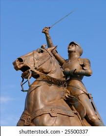 Joan of Arc statue, Blois, France