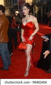 JOANIE LAURER aka CHYNA at the 31st Annual American Music Awards in Los Angeles. November 16, 2003  Paul Smith / Featureflash
