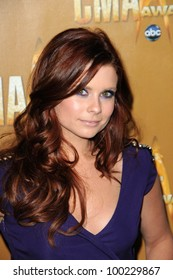 Joanna Garcia  at the 44th Annual CMA Awards, Bridgestone Arena, Nashville, TN.  11-10-10