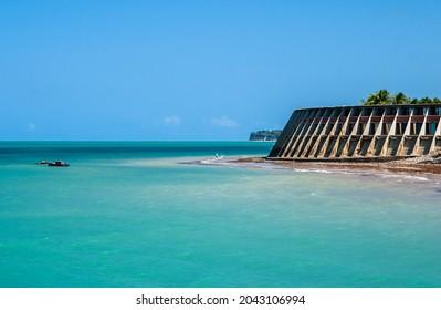 Joao Pessoa, Paraiba, Brazil, on September 14, 2006. Tambaú beach with its turquoise waters.