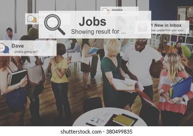 Job Employment Hiring Career Occupation Concept