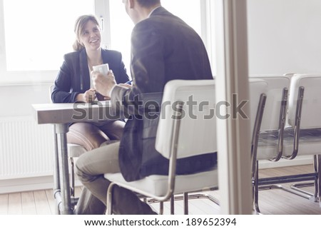 Job interview or meeting