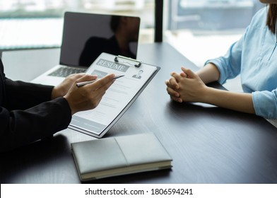 The job interviewer is inquiring about the talent of job seekers who have written on their resume, job interview ideas.