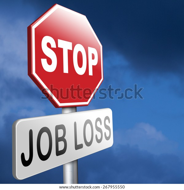Job Loss Unemployment Getting Fired Employment Stock Photo