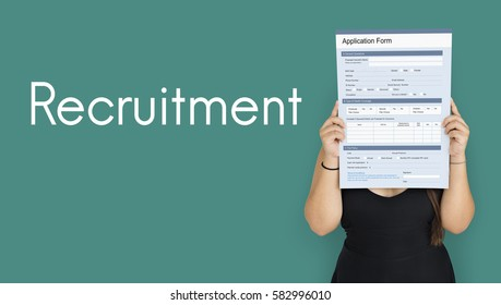job search blank application form stock illustration 586110800