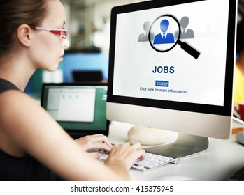 Jobs Career Employing Hiring Occupation Activity Concept