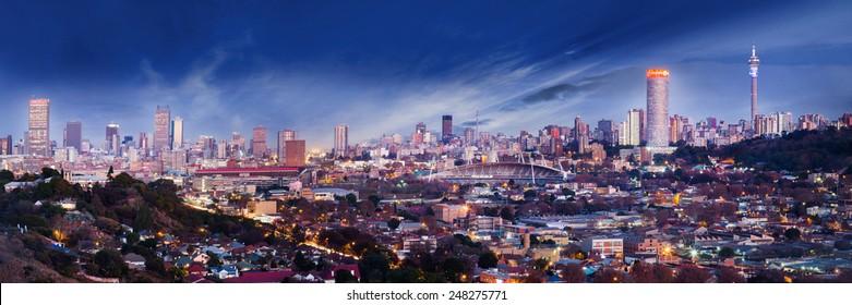 Johannesburg skyline images stock photos vectors shutterstock joburg skyline thecheapjerseys Images