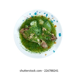 Jocon -  joc���³n is a dish popular with the Mayan population of Guatemala