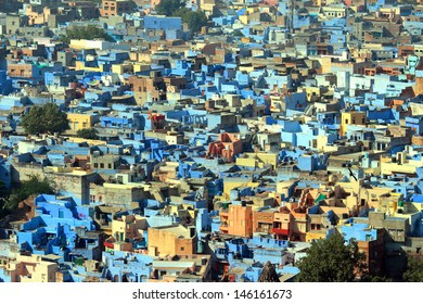 jodhpur blue city - rajasthan india