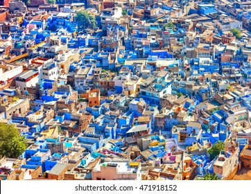 Jodhpur, the Blue City of Rajasthan, India, Asia