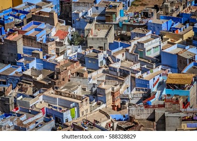 Jodhpur city in India called also as the Blue City