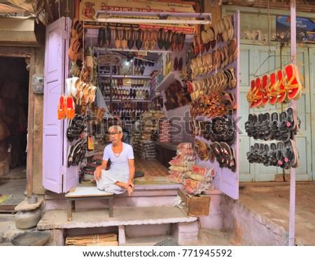 20c925b2c380 Jodhpur India November 05 2017 Street Stock Photo (Edit Now ...