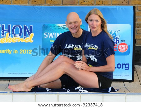 f7eb5bcc91 Jodie Kidd and Duncan Goodhew launch Swimathon 2012 at the Oasis Sports  Centre in Central London