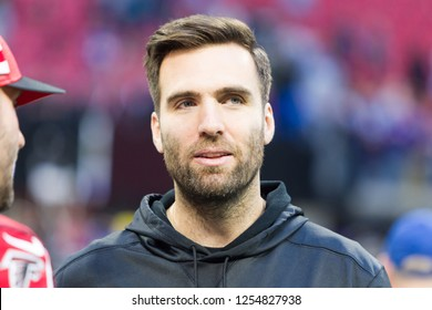 Joe Flacco - NFL - December 2nd 2018 Atlanta Falcons Vs. Baltimore Ravens at the Mercedes Benz Stadium in Atlanta Georgia USA