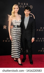 Joe Jonas and Sophie Turner at the Los Angeles premiere of 'Dark Phoenix' held at the TCL Chinese Theatre in Hollywood, USA on June 4, 2019.