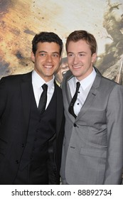 "Joe Mazzello & Rami Malek (left) at the premiere of his new HBO miniseries ""The Pacific"" at Grauman's Chinese Theatre, Hollywood. February 24, 2010  Los Angeles, CA Picture: Paul Smith / Featureflash"
