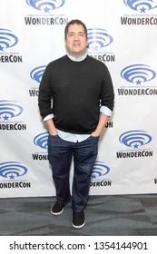 """Joe Pokaski attends 2019 WonderCon - Marvel's """"Cloak and Dagger"""" Press Room, Anaheim, CA on March 29th, 2019"""