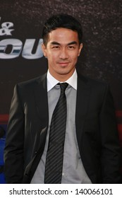"""Joe Taslim at the """"Fast And Furious 6"""" Los Angeles Premiere, Gibson Amphitheatre, Universal City, CA  05-21-13"""