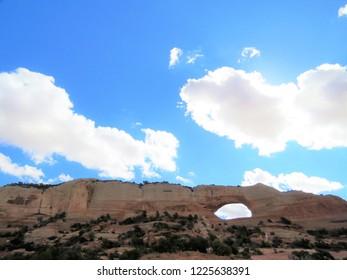 Joe Wilson arch in Moab, Utah