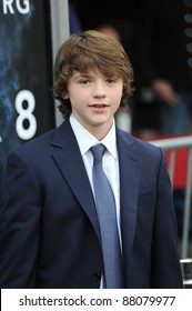 """Joel Courtney at the Los Angeles premiere of his new movie """"Super 8"""" at the Regency Village Theatre, Westwood. June 9, 2011  Los Angeles, CA Picture: Paul Smith / Featureflash"""