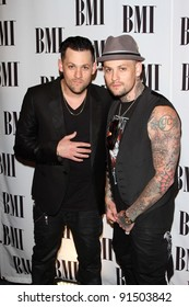 Joel Madden and Benji Madden at the BMI Pop Music Awards, Beverly Wilshire Four Seasons Hotel, Beverly Hills, CA. 05-17-11
