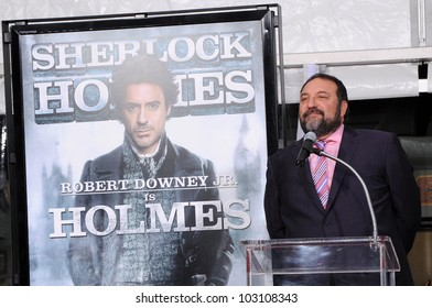 Joel Silver at Robert Downey Jr. Hand and Footprints Ceremony, Chinese Theater, Hollywood, CA. 12-07-09
