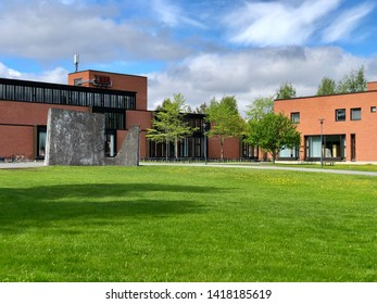 Joensuu / Suomi - May 26 2019: University of Eastern Finland Joensuu Campus