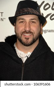 Joey Fatone  at the 5th Annual Black Eyed Peas Peapod Foundation Benefit Concert. The Conga Room, Los Angeles, CA. 02-05-09