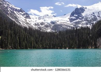 Joffre Lakes Provincial Park in British Columbia, Canada