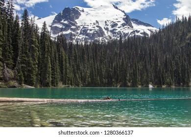 Joffre Lakes Provincial Park in British Columbia, Canada.