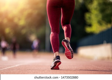 Jogging workout and sport healthy lifestyle concept.