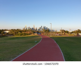 Joging track with nature