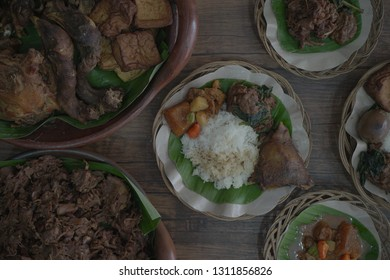 Jogja City Gudeg. is one of Jogja's most popular foods and has a distinctive sweet taste.