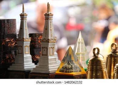 Jogja Monument Miniature and Borobudur Temple Miniature