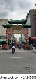 JOGJAKARTA, INDONESIA - May 13, 2019: A nice place to visit the many facets of Jogjakarta. The Chinese community have many colorful and delightful aspects.